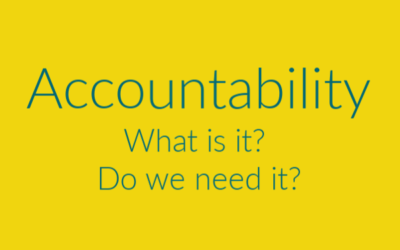 Accountability – What and why?