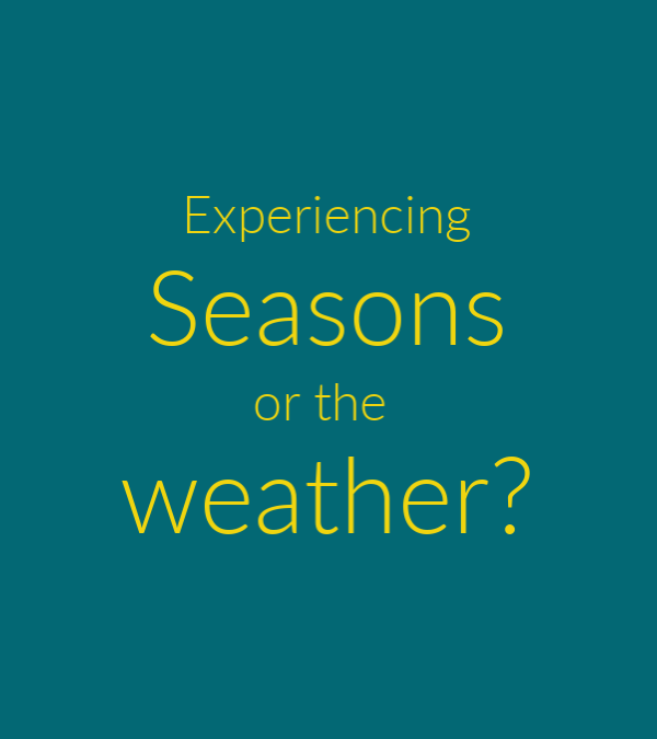 Season or Weather?