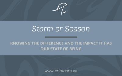 How To Tell If You Are Experiencing A Storm Or A Season
